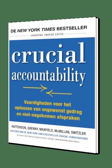 Crucial Accountability boek VitalSmarts