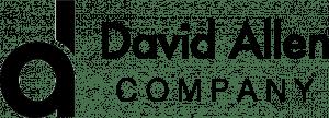 David Allen Company logo zwart