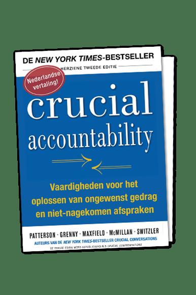 Eerste hoofdstuk boek Crucial Accountability