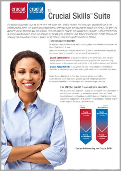 Flyer | Crucial Skills Suite