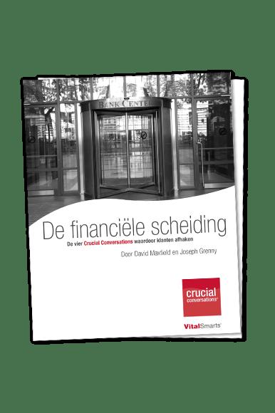 Onderzoek 'Waarom klanten afhaken in de financiële sector