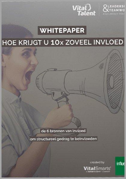 Whitepaper | 10x Zoveel Invloed