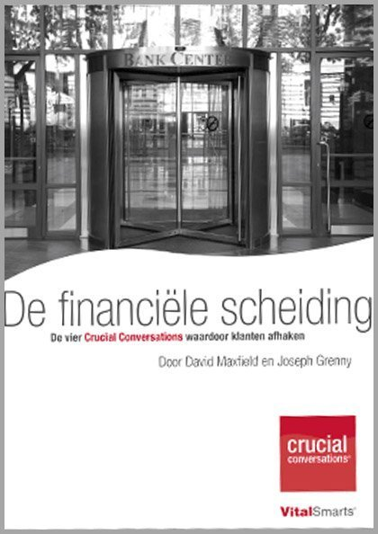 Onderzoek   De Financiële Scheiding