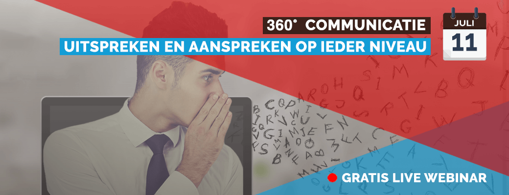Live webinar 360° Communicatie