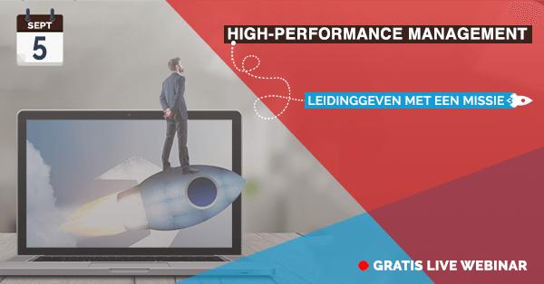 Webinar High-Performance Management opleiding | VitalTalent
