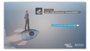Brochure opleiding High-Performance Management I